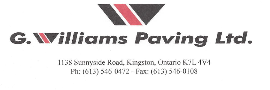 G. Williams Paving Ltd.
